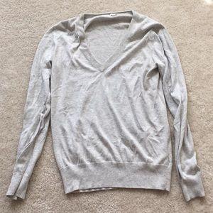 J. Crew cotton v neck sweater